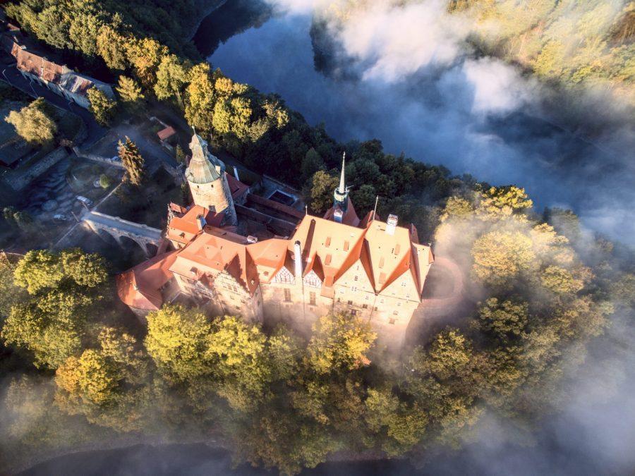 najpiękniejsze miejsca w polsce zamek czocha