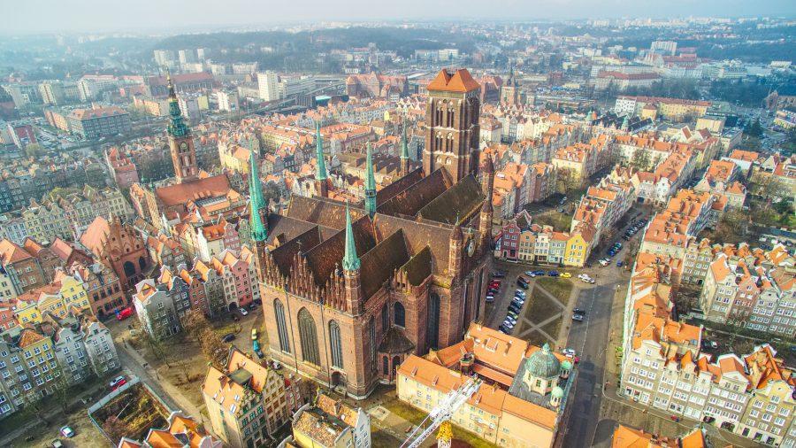 Gdańsk bazylika Mariacka atrakcje gdańsk atrakcje gdańska