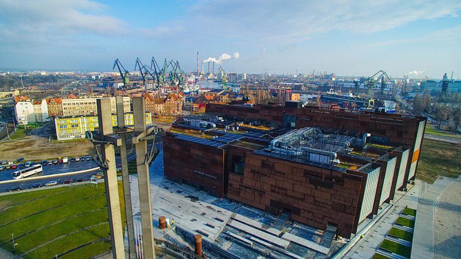 Europejskie Centrum Solidarności stocznia Gdańsk atrakcje gdańsk atrakcje gdańska