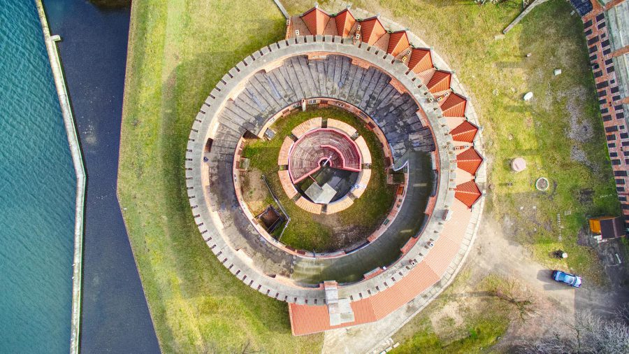 Gdańsk z lotu ptaka dron atrakcje gdańsk atrakcje gdańska