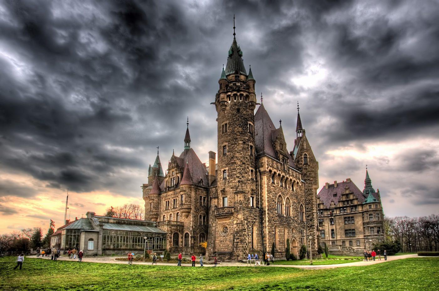 pałac w mosznej zamek moszna