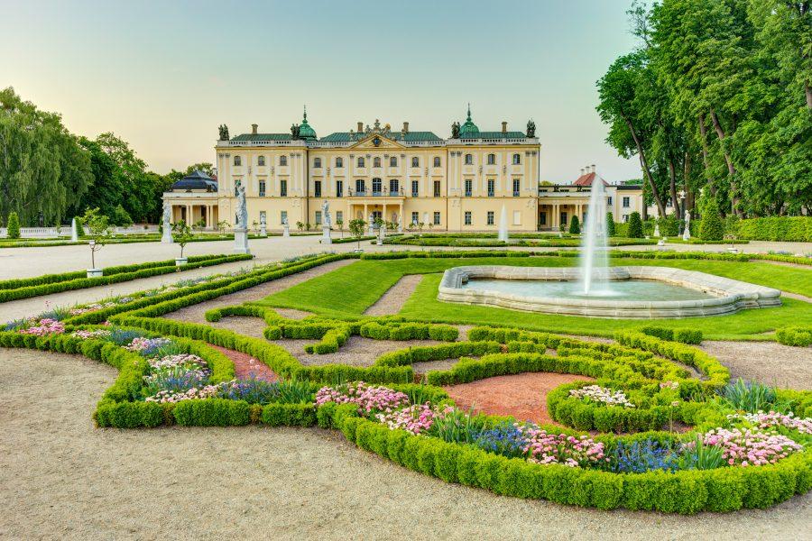 pałace branickich