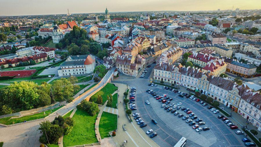 Lublin z drona, fot. Artur Kowalczyk, Polska Zachwyca ⓒ