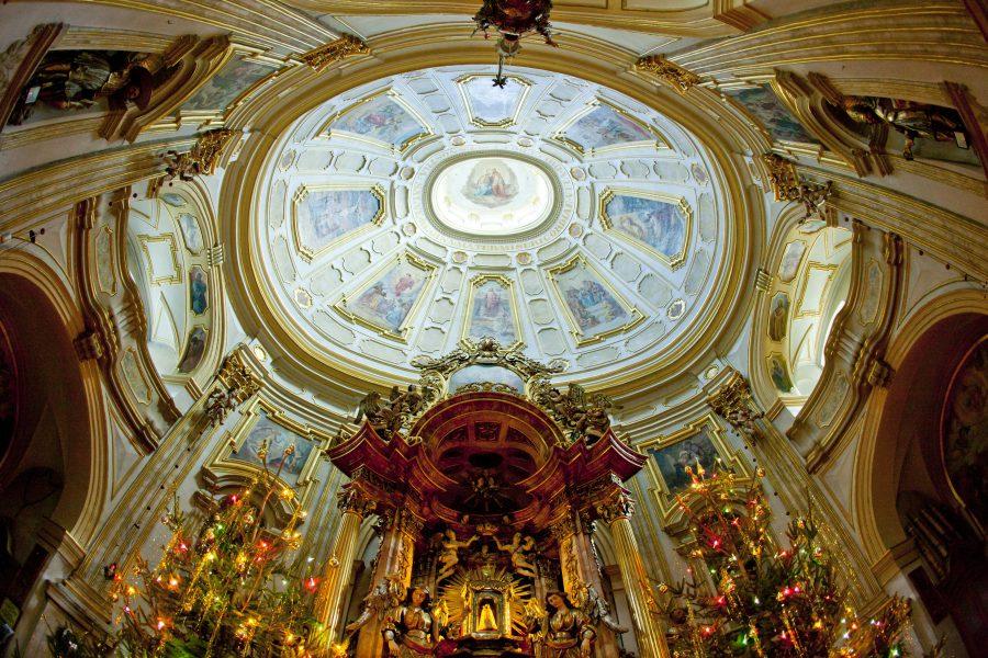 Wambierzyce, wnętrze bazyliki