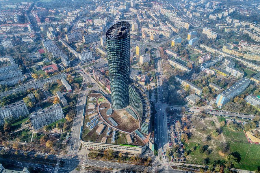 sky tower artur kowalczyk
