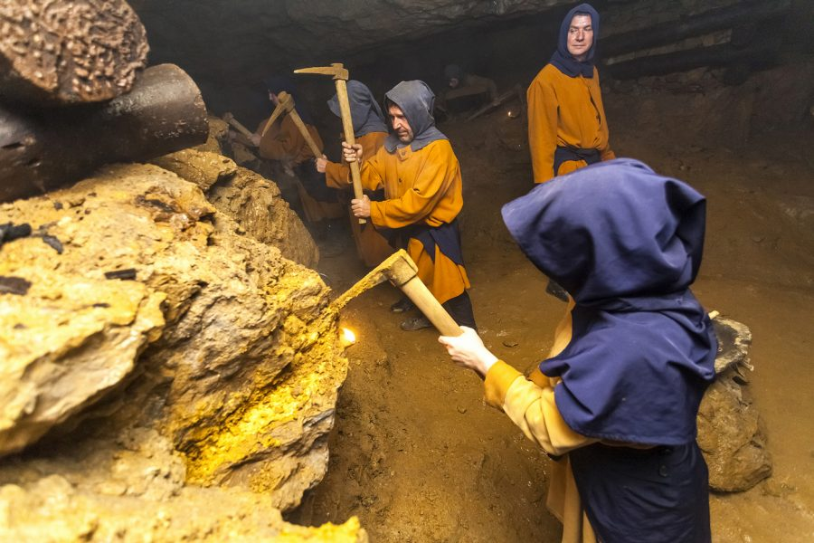 szlak zabytków techniki kopalnia srebra tarnowskie góry