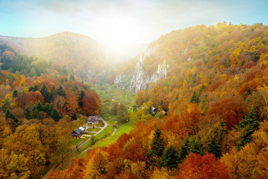 najpiękniejsze miejsca w polsce ojcowski park narodowy