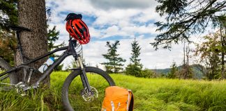 rower i plecak