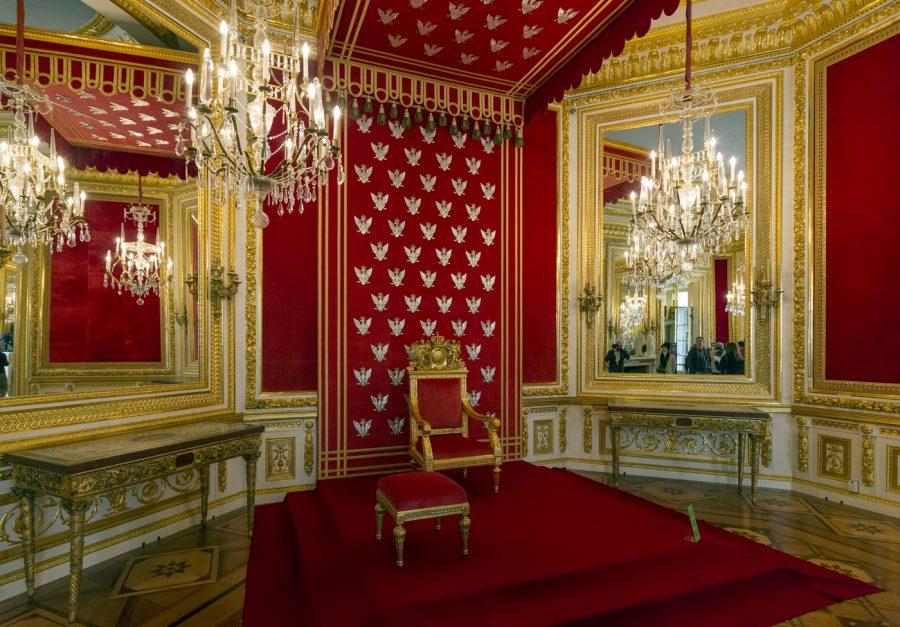 zamek królewski w Warszawie sala tronowa