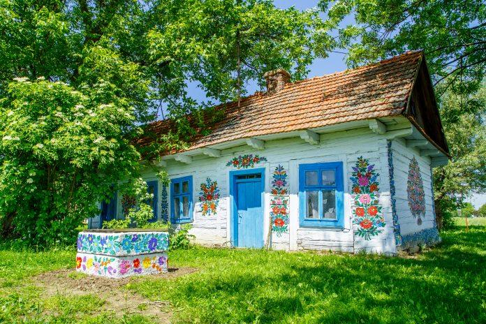 małopolskie atrakcje Zalipie