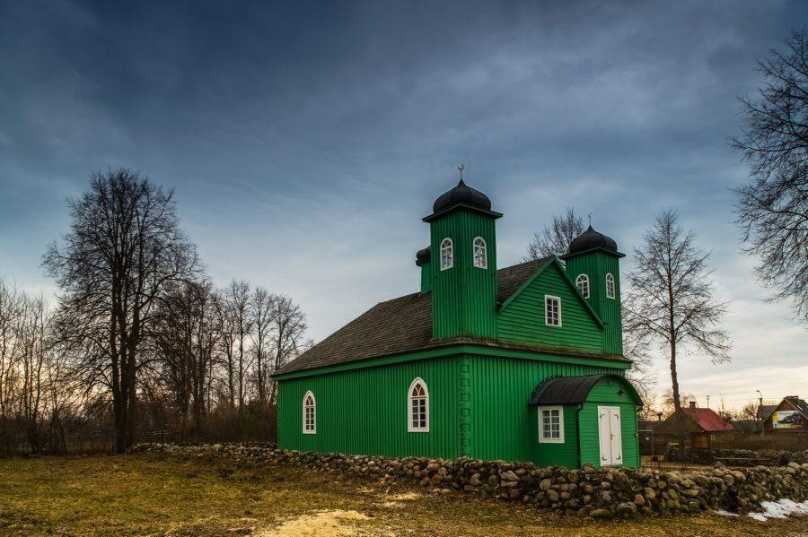 meczet w Kruszynianach szlak tatarski