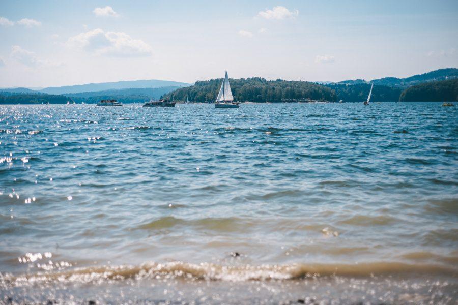 Solina jezioro solińskie