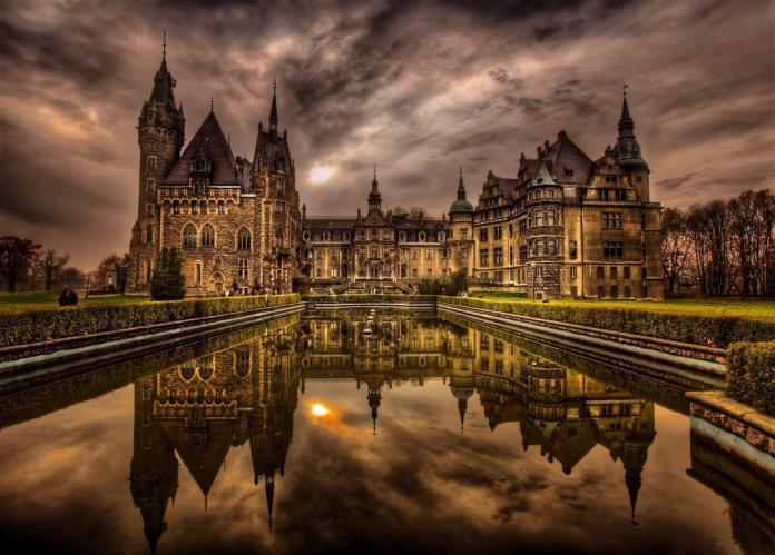 Opolskie atrakcje: zamek Moszna