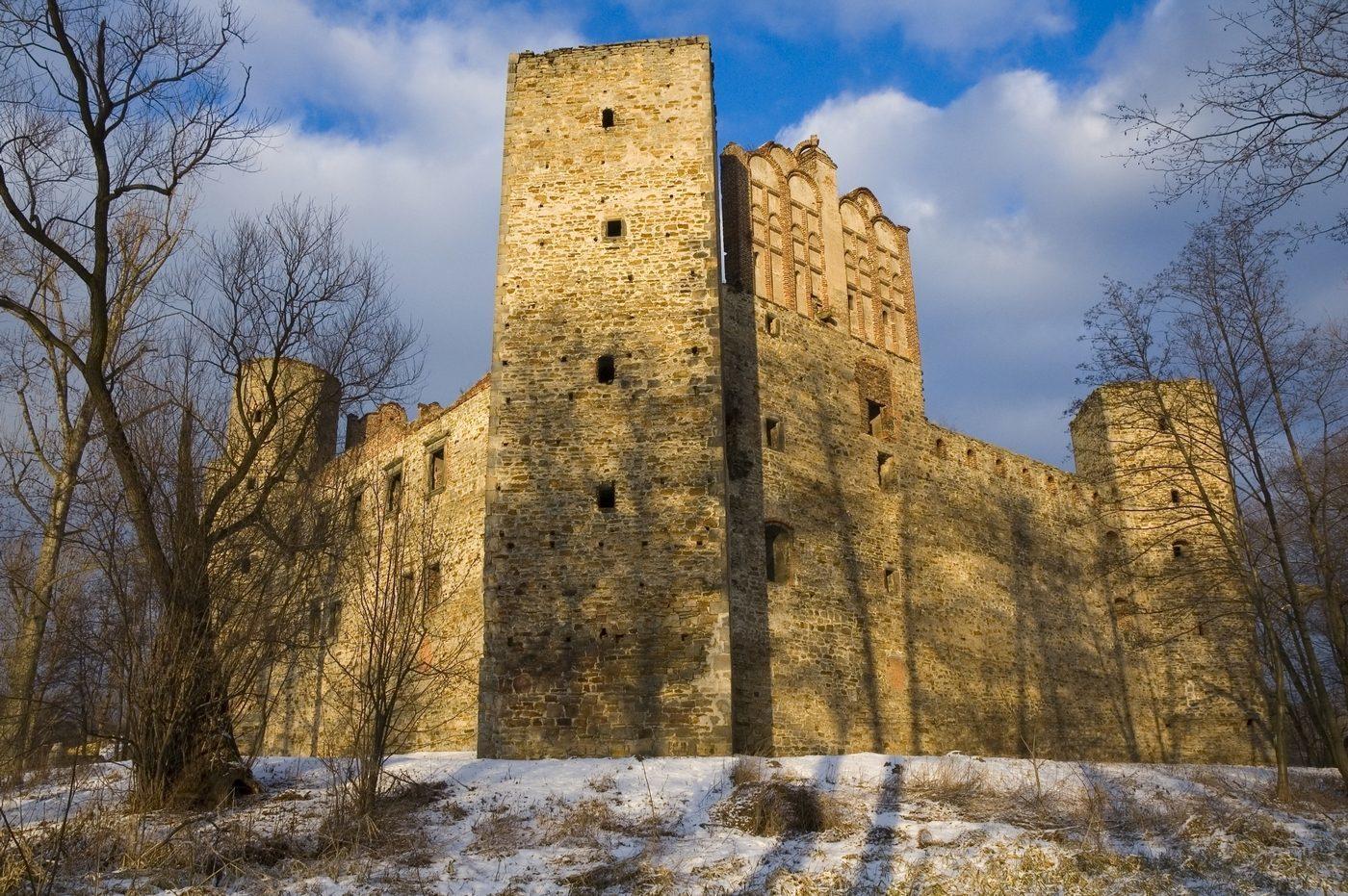 Zamek w Drzewicy – tu także jest zakaz wstępu