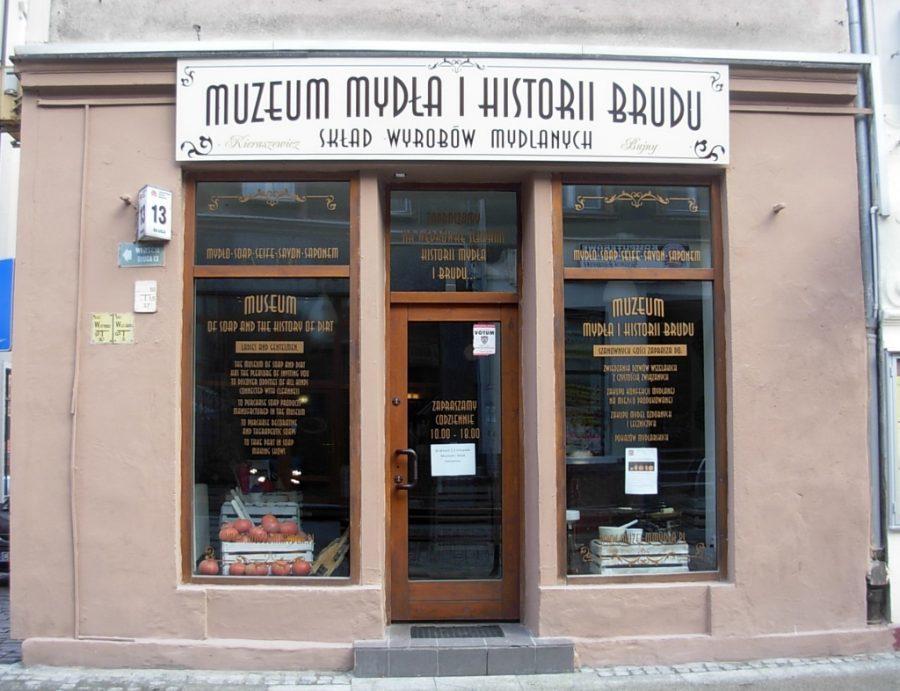 muzeum mydła i historii brudu