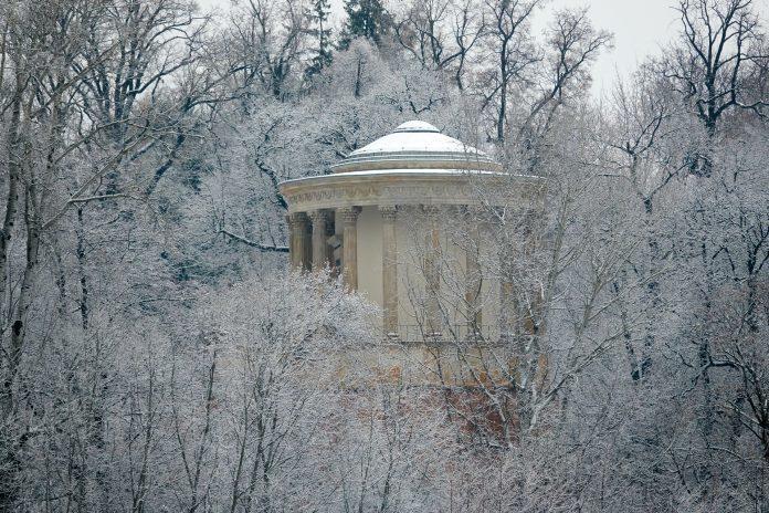 Świątynia Sybilli przy pałacu w Puławach