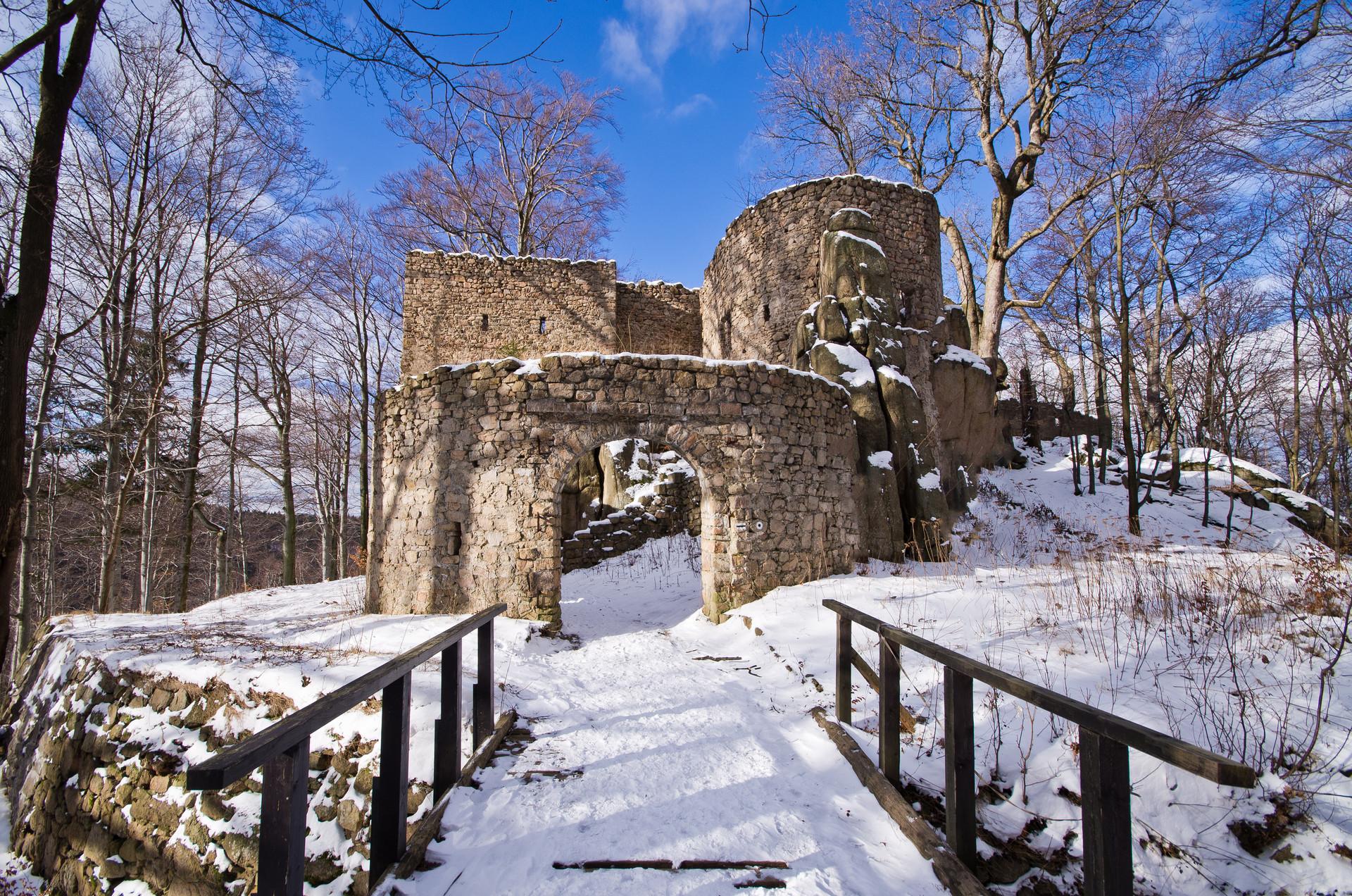 15a0b8e4caa7 Zamek Bolczów – malownicze ruiny w Rudawach Janowickich ...