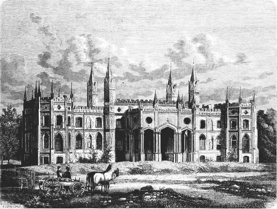 pałac paca w dowspudzie