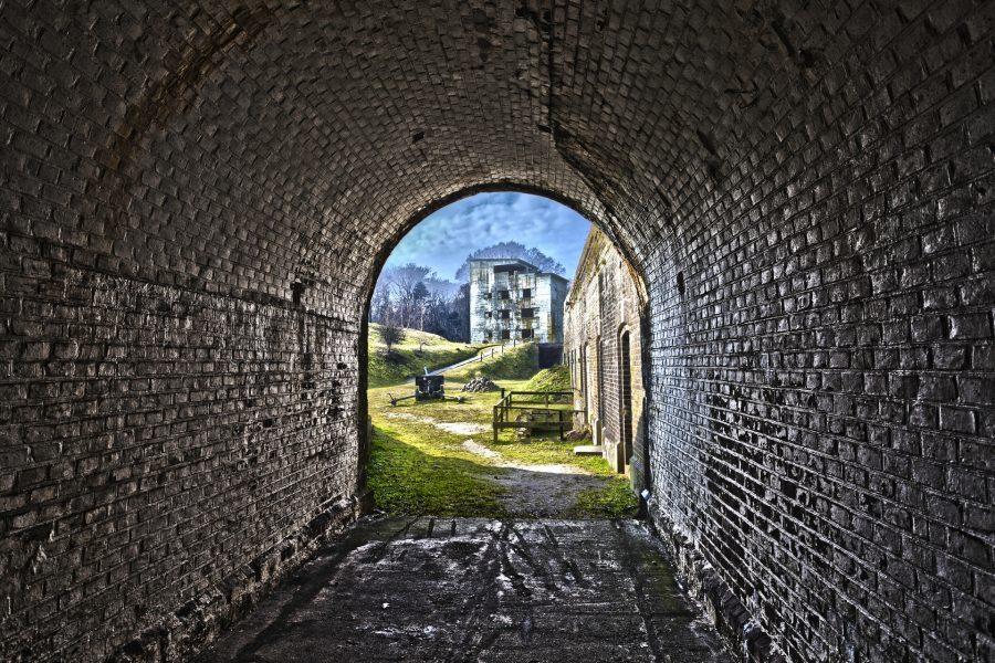 fort świnoujście tunel