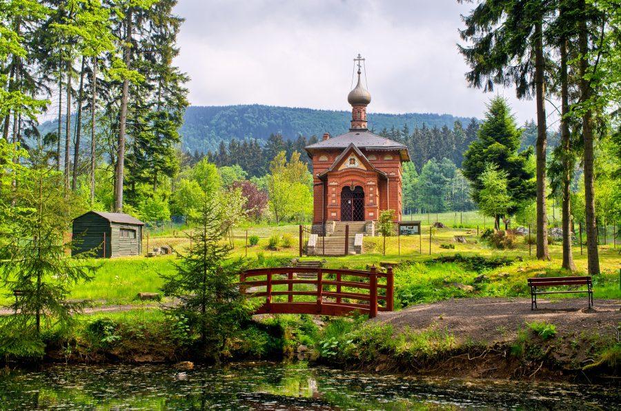 Cerkiewka prawosławna w Sokołowsku
