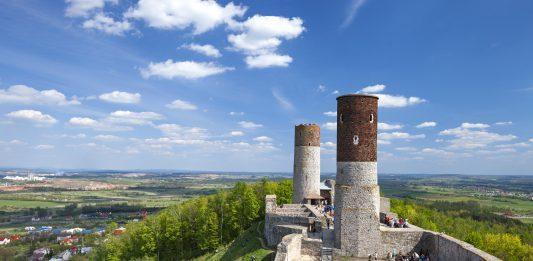 świętokrzyskie atrakcje Zamek w Chęcinach