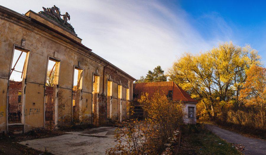opuszczone miasto w Polsce