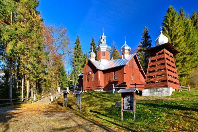 Dawna cerkiew św. Paraskewy w Kamiannej