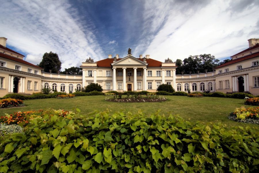 pałac w śmiełowie w wielkopolsce
