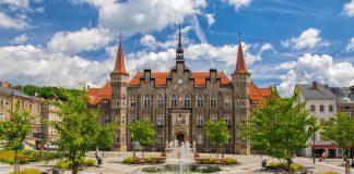 Ratusz w Wałbrzychu