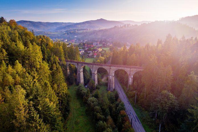 wiadukt w Wiśle
