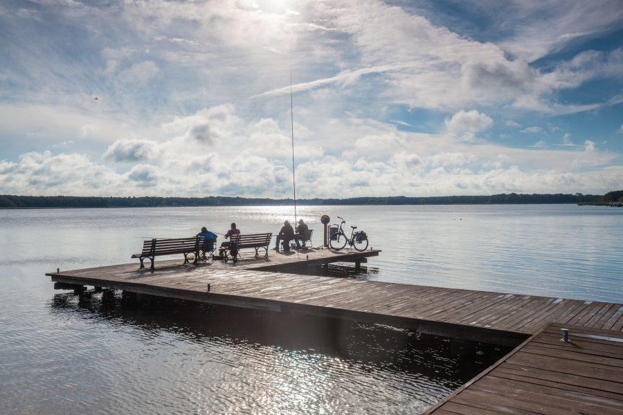 Jezioro Sławskie to popularne miejsce wypoczynku