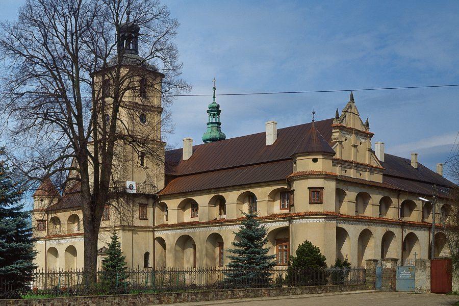 stary klasztor cystersów w wąchocku