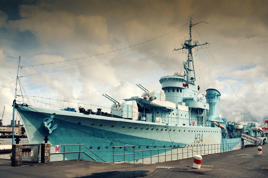ORP Błyskawica to pływające muzeum