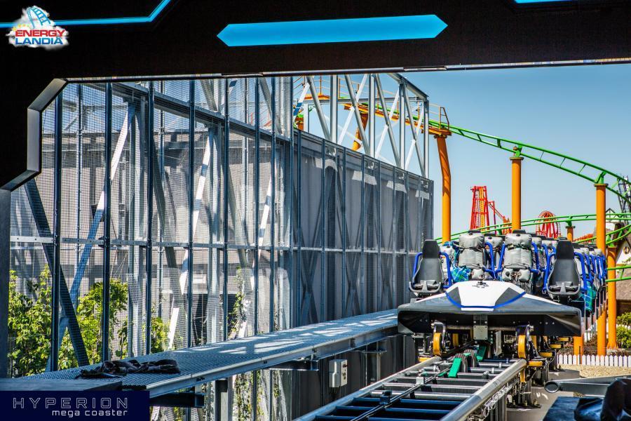 największy rollercoaster w europie hyperion energylandia