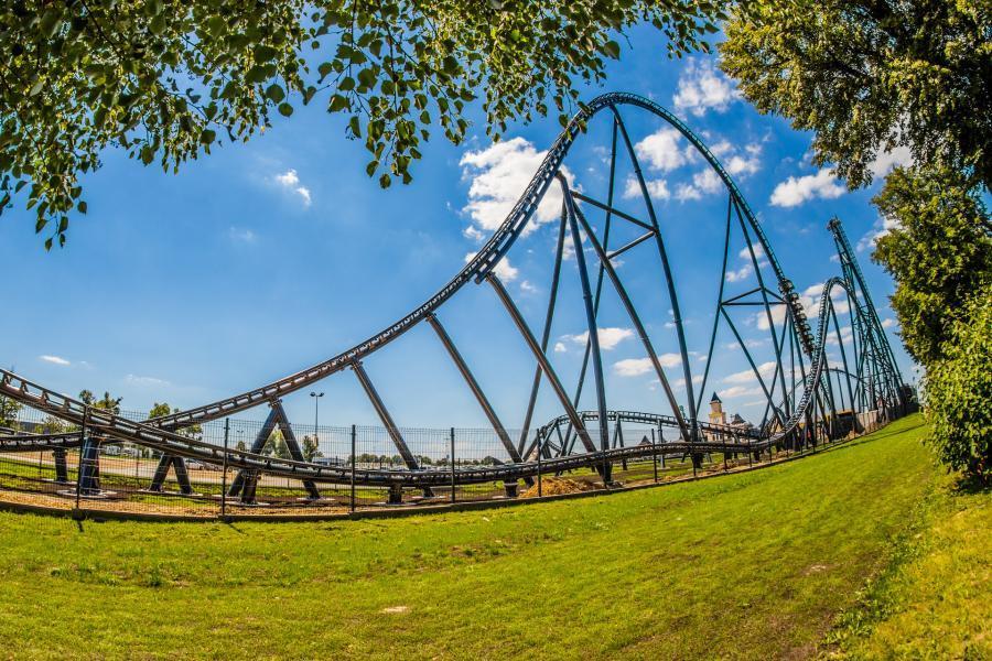 największy rollercoaster hyperion