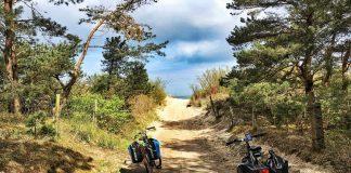 dziwnów atrakcje rowery na plaży