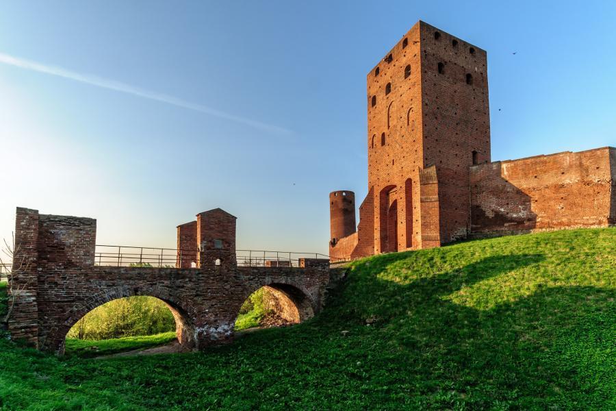 Zamek w Czersku można dziś zwiedzać