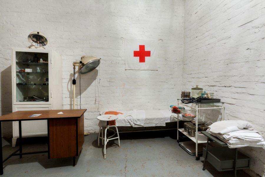 Podziemny szpital w schronach pod Nową Hutą