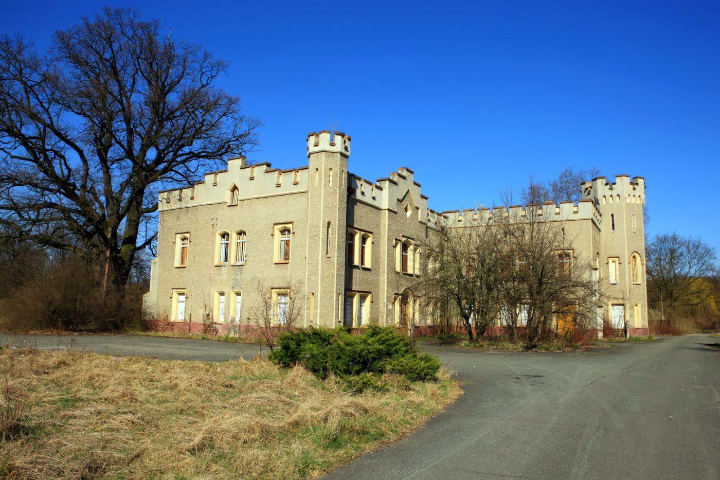 Opuszczony Pałac Sybilli w Szczodrem, Śląski Windsor