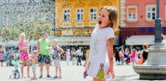 dziecko na rynku we wrocławiu