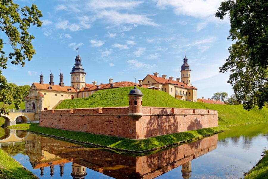 Zamek Radziwiłłów w Nieświeżu, Białoruś