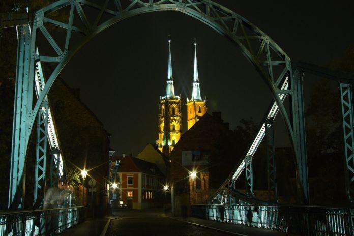 katedra ostrów tumski wrocław