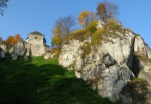 zamek w ojcowie na szlaku orlich gniazd