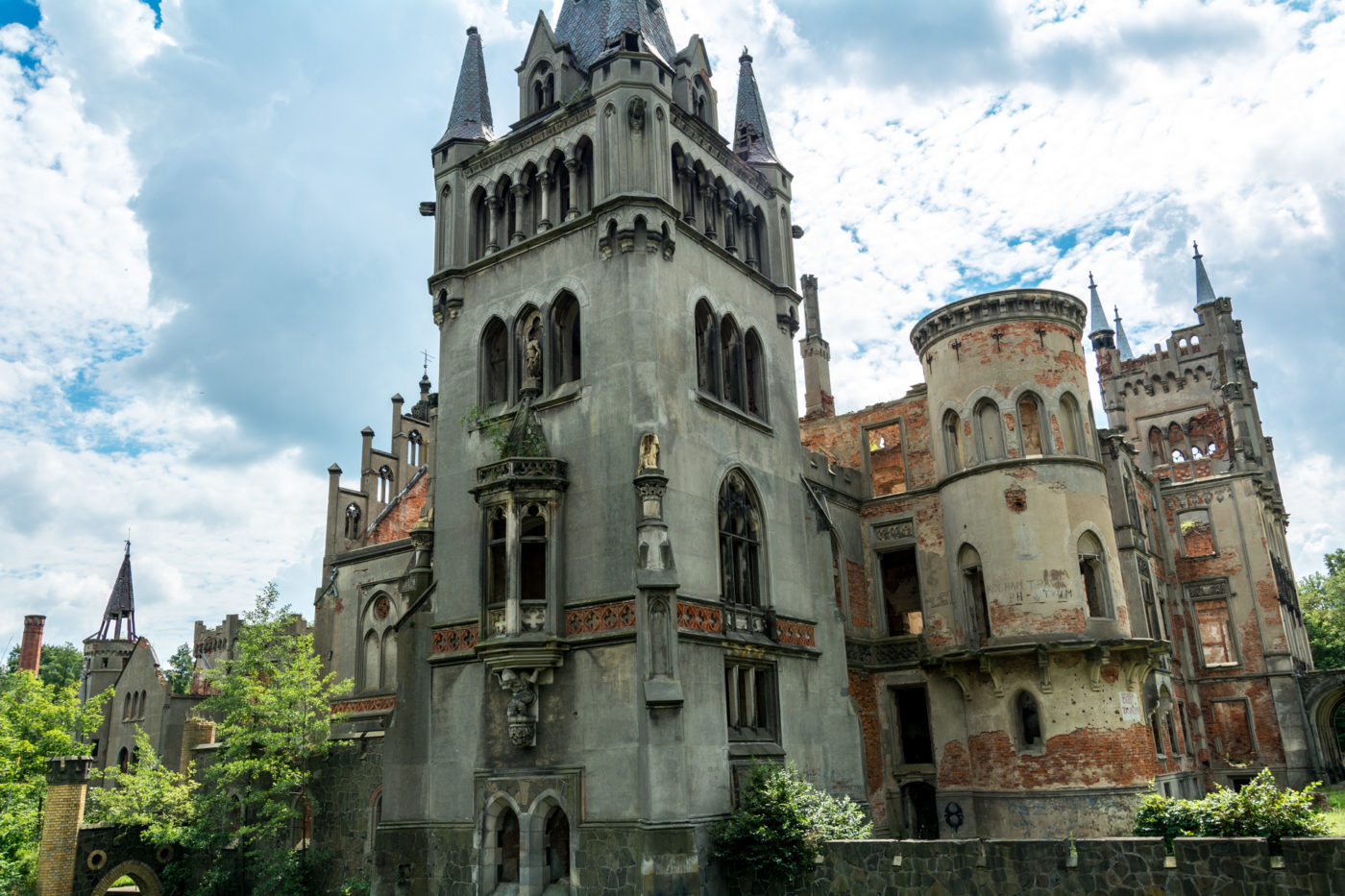 pałac w kopicach