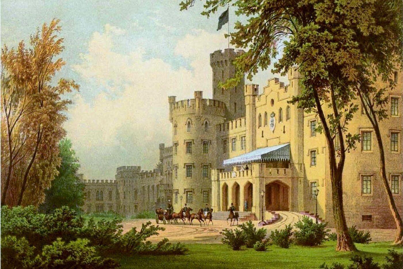 Śląski Windsor. Theodor Blätterbauer, Alexander Duncker (1813-1897)