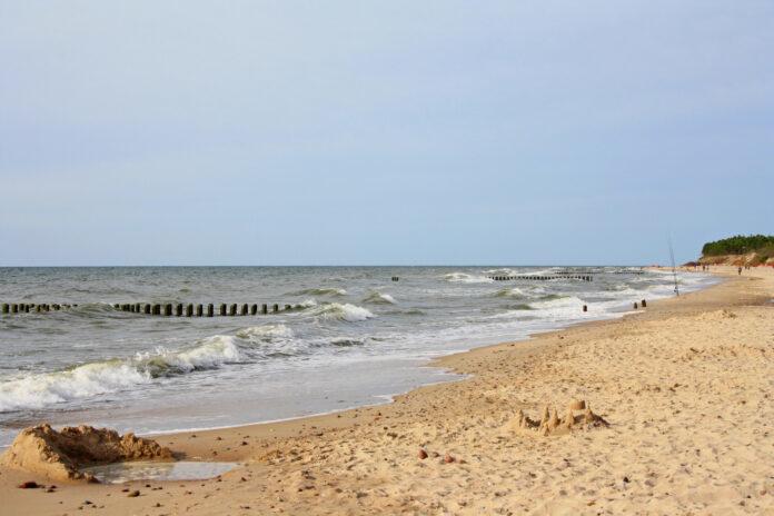 Plaża w Wiciu w gminie Darłowo