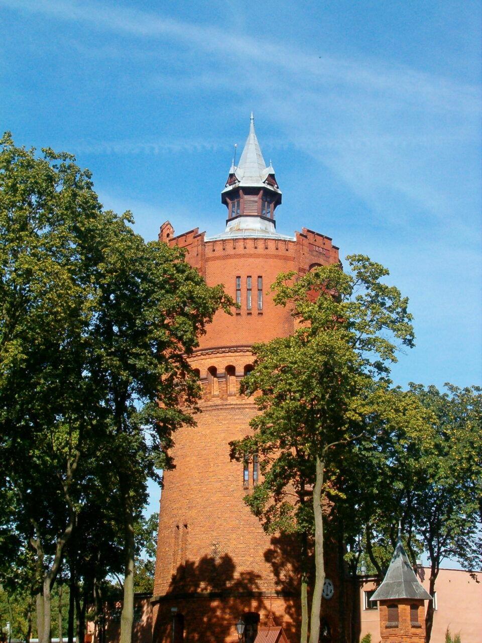 Wieża ciśnień Stare Bielany w Toruniu