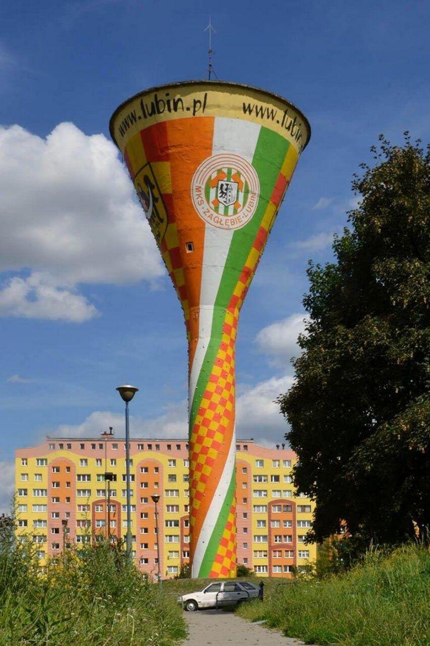 Wieża ciśnień w Lubinie