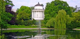 Wieża ciśnień w Ogrodzie Saskim w Warszawie