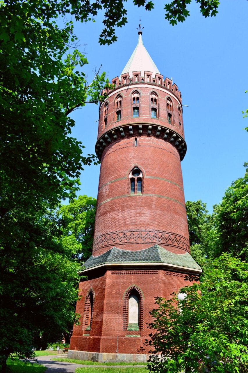 Wieża ciśnień w Stargardzie, najwyższa w Polsce